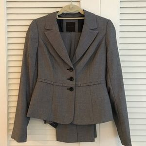 NWT The Limited grey pantsuit with blazer